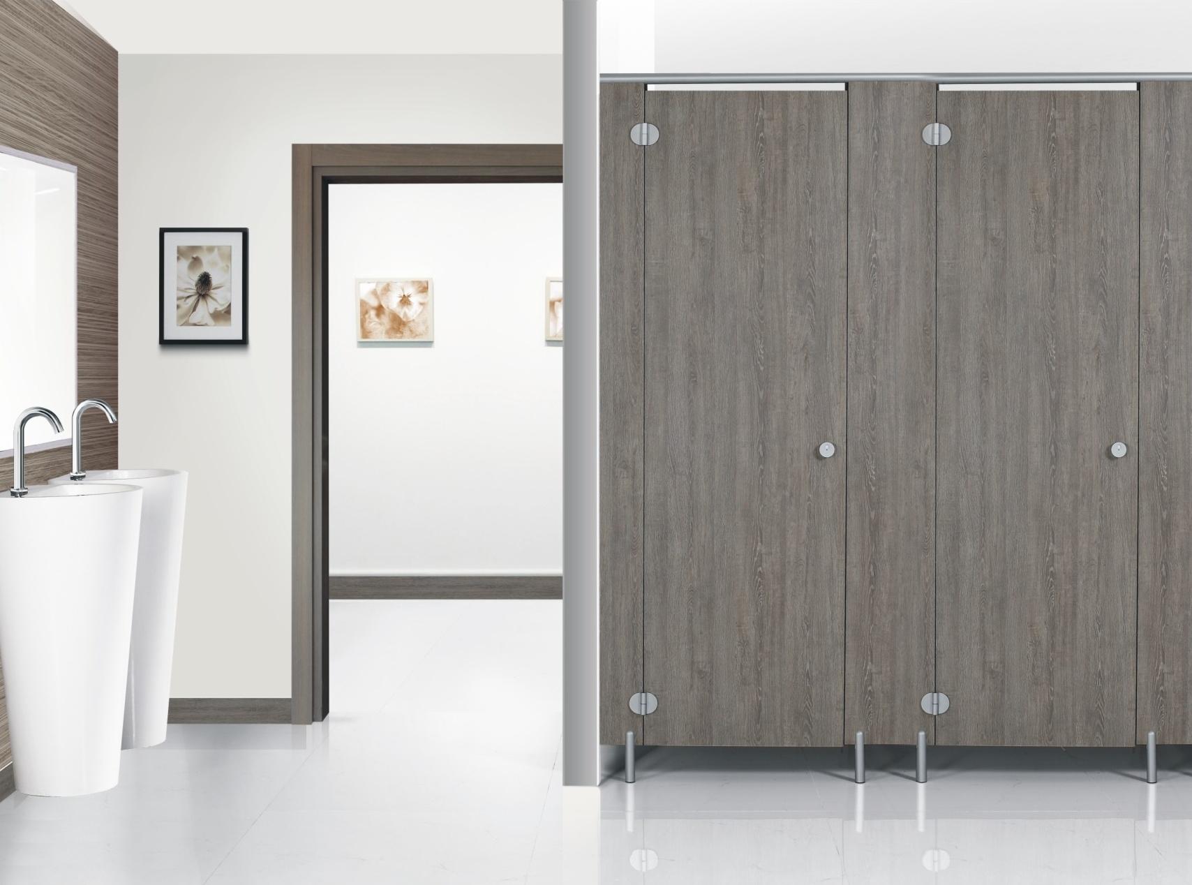 不锈钢配件卫生间隔断-成品5