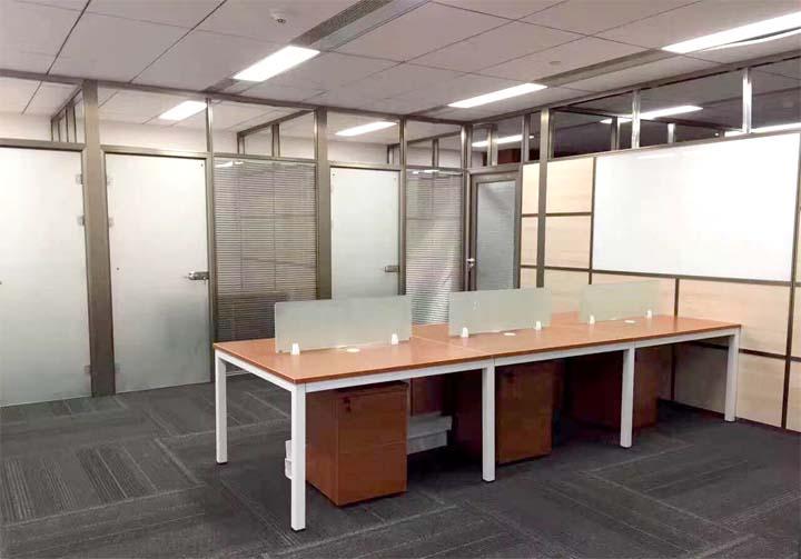 办公室玻璃隔断设计