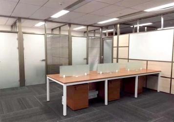 深圳办公室玻璃隔断设计