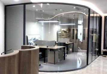 惠州办公室玻璃隔断